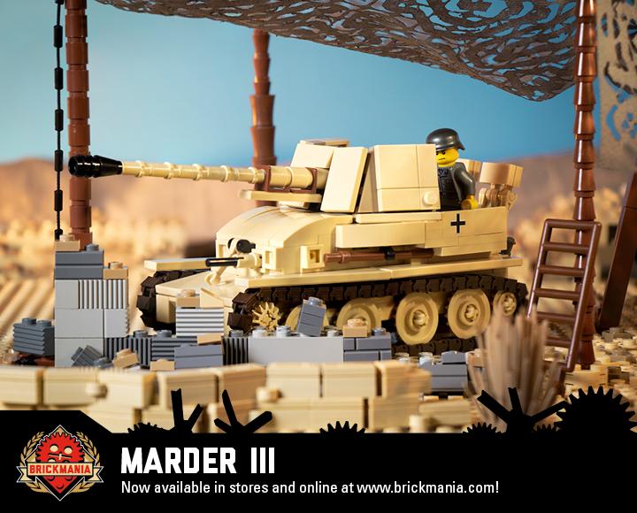 Marder III - SdKfz 139 - WWII German Tank Destroyer