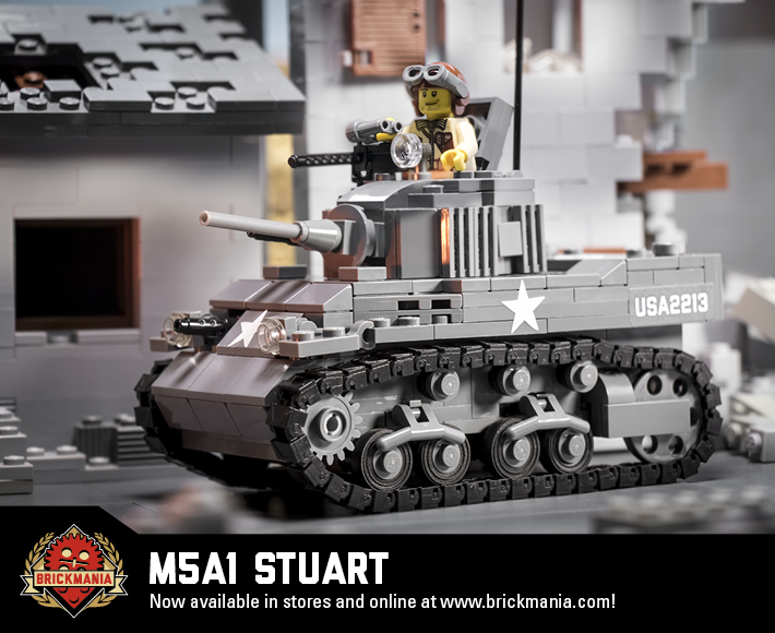 M5A1 Stuart - World War II Light Tank