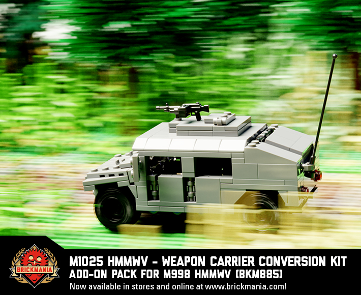 Canvas Add-On Pack, M1025 HMMWV - Weapon Carrier, M997A2 HMMWV - Ambulance