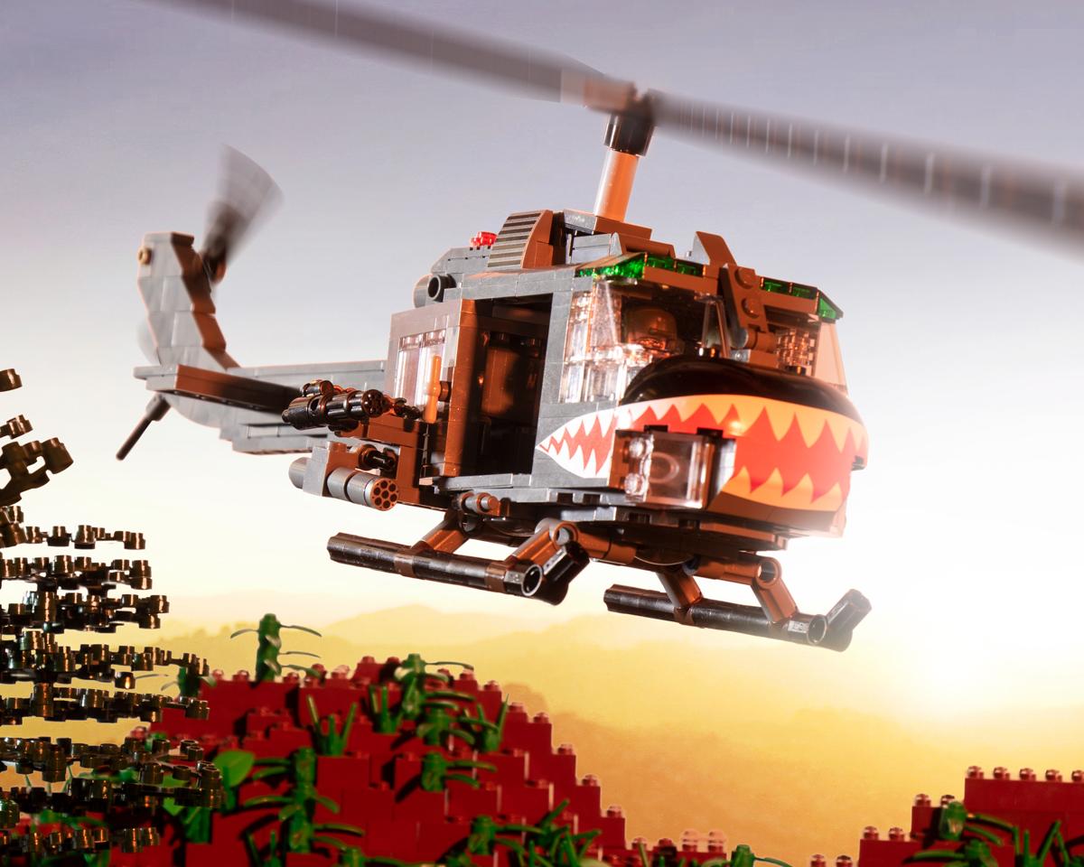 "UH-1C Gunship - Conversion Kit for the UH-1D ""Huey"" (BKM1029)"