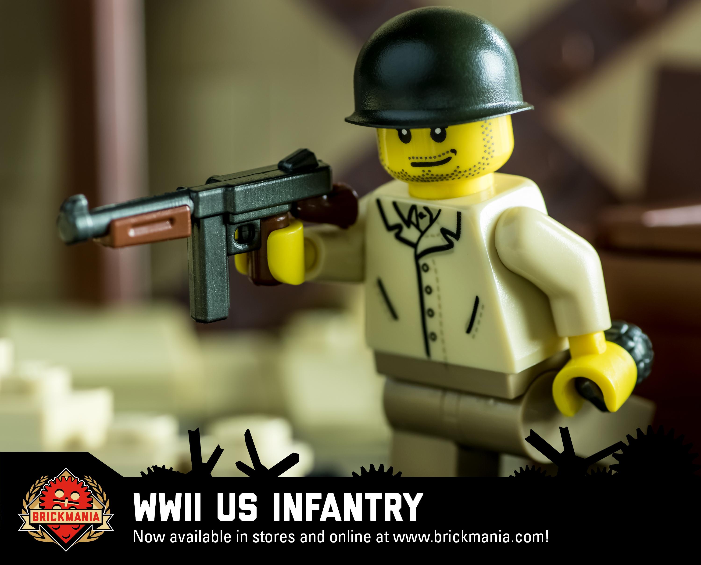 World War II US Infantry (Tan)