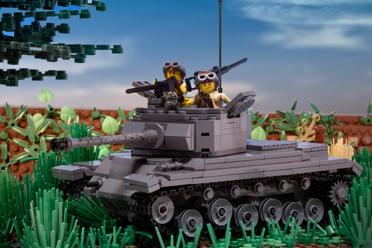 M26 Pershing Tank - Premium Black Box Edition Kit