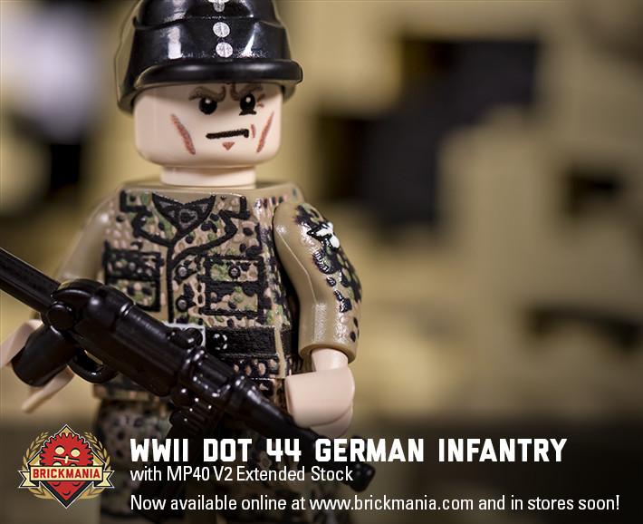 WWII Dot 44 German Infantry