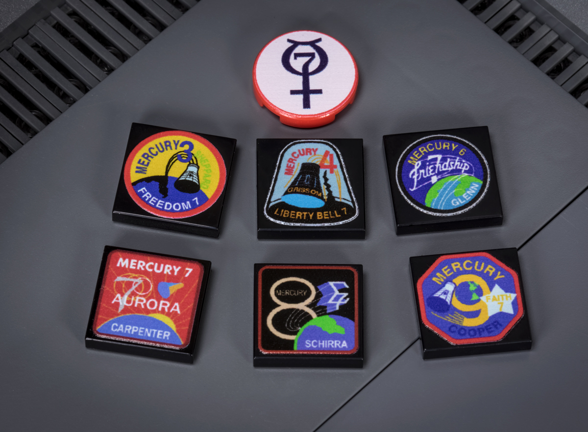 Mercury Mission Tile Pack