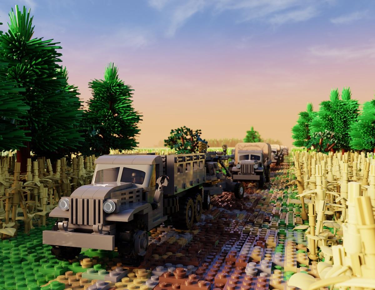 CCKW - 2 1/2 Ton Cargo Truck