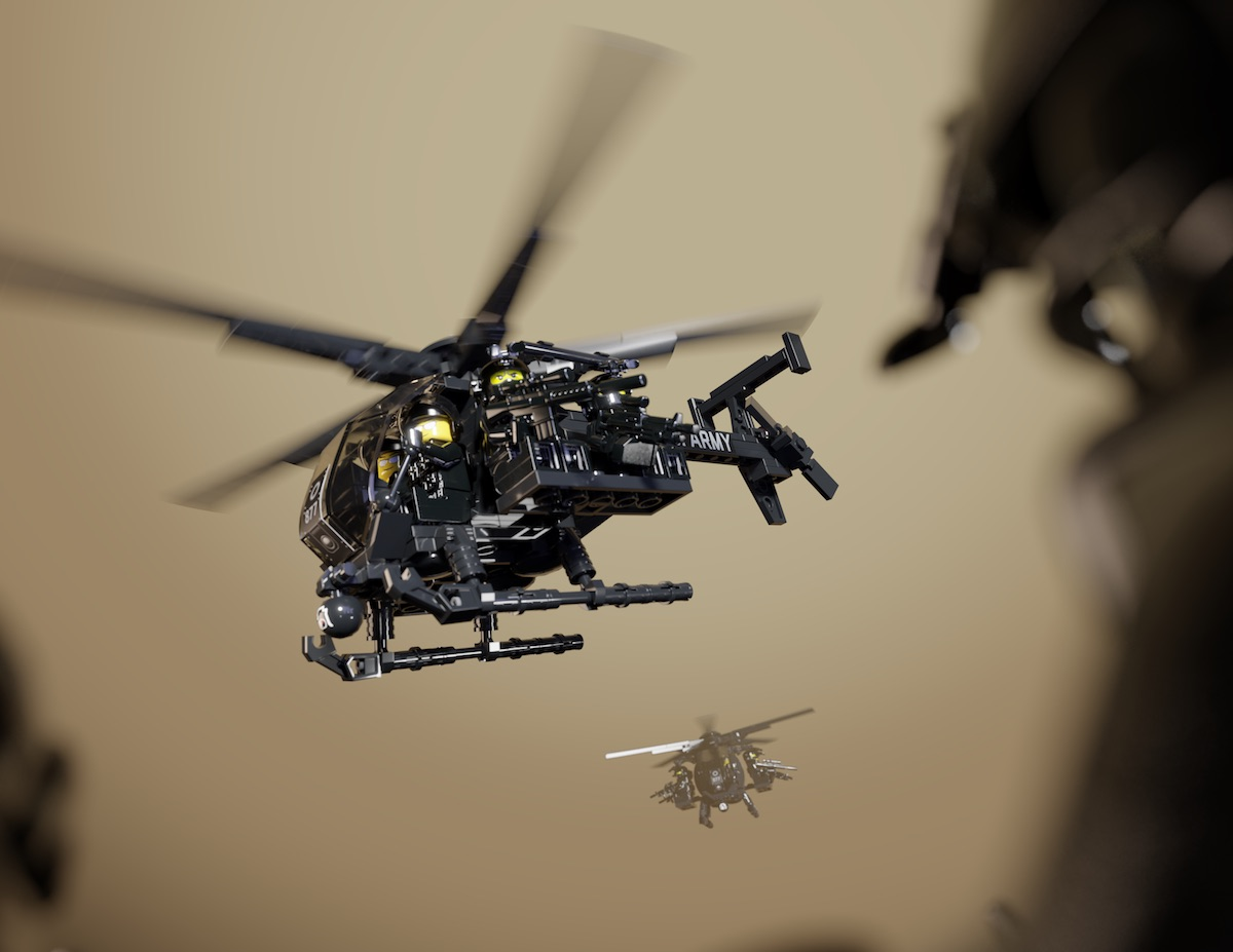 AH-6 Little Bird - Light Attack Helicopter