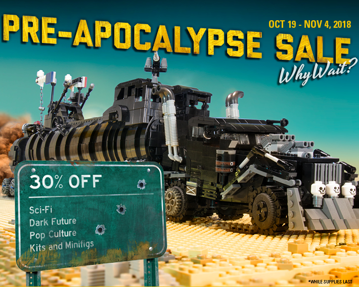 Save 30% On Select SciFi and Pop Culture Kits and Minifigs