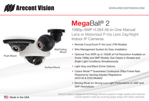 Download Drivers: Arecont Vision AV5245DN-01-D-LG IP Camera