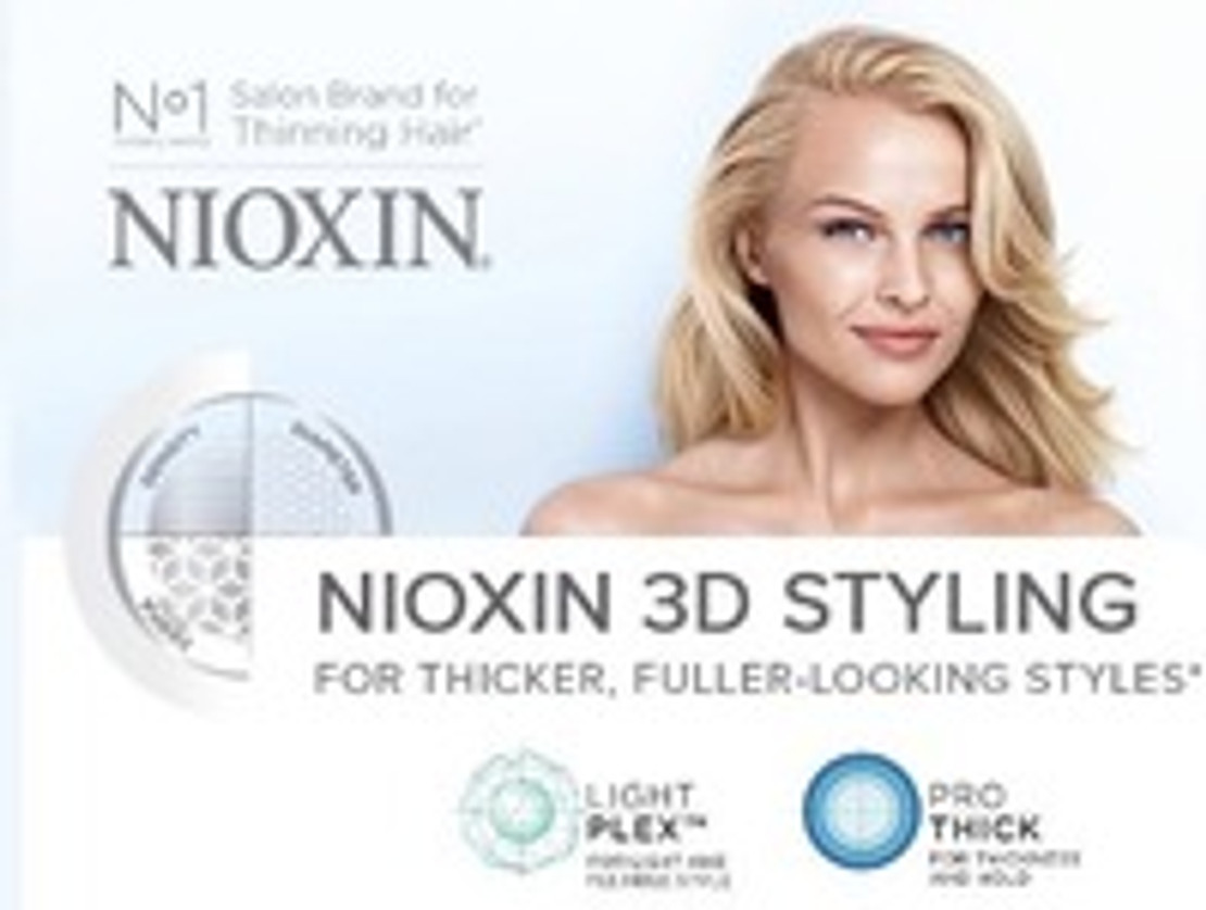 The Future of Hair Styling with Nioxin 3D