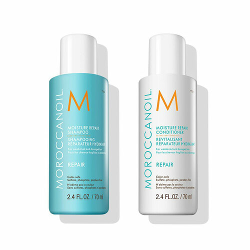 Moroccanoil Travel Size Repair Shampoo & Conditioner 70ml