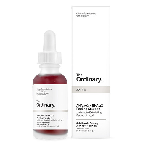 The Ordinary AHA 30%+BHA 2% Peeling Solution 30ml