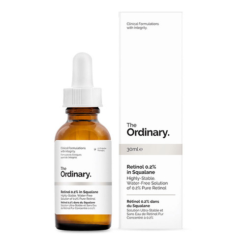 The Ordinary Retinol 0.2% in Squalane - 30ml