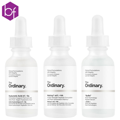 The Ordinary Anti-Ageing Trio (3 x 30ml)
