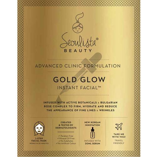 Seoulista Gold Glow Instant Facial