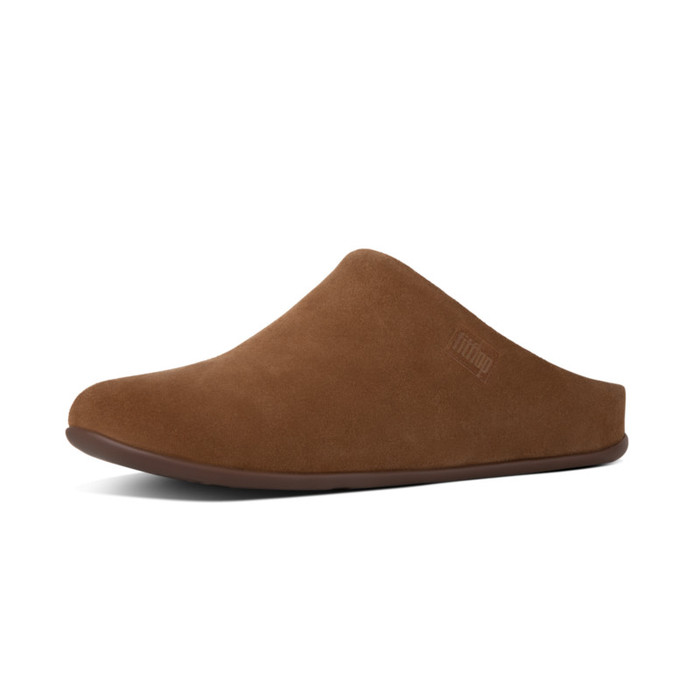 FitFlop Chrissie Shearling Tan Slippers