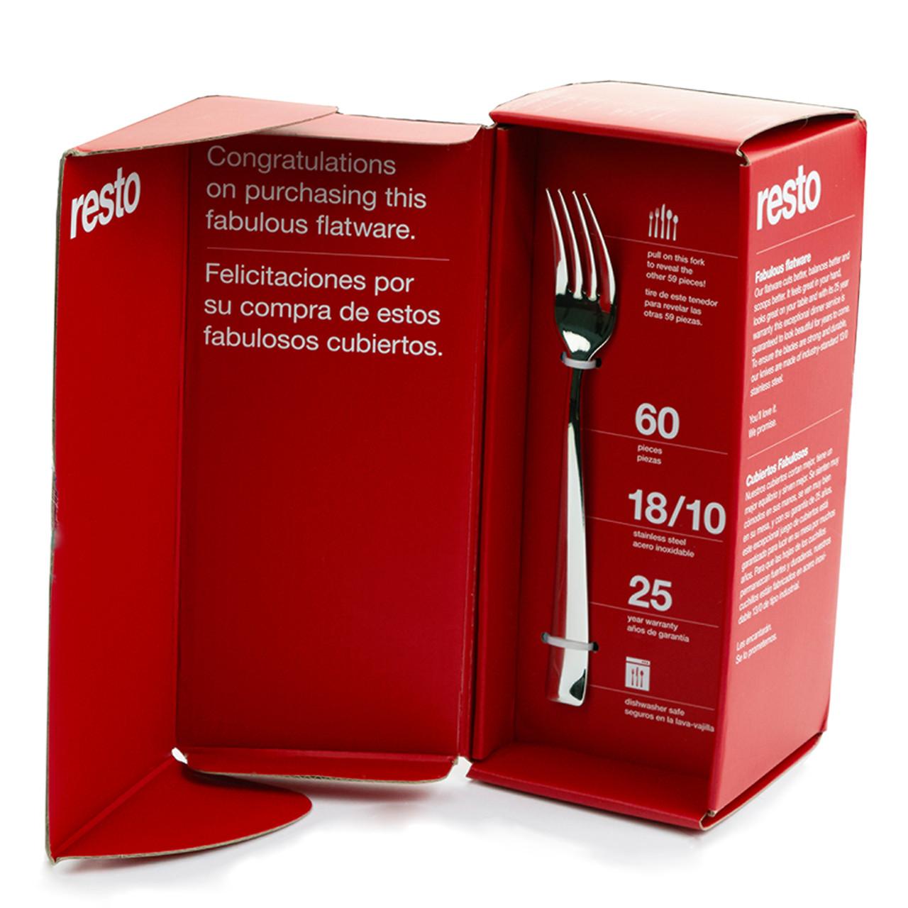Resto flatware box