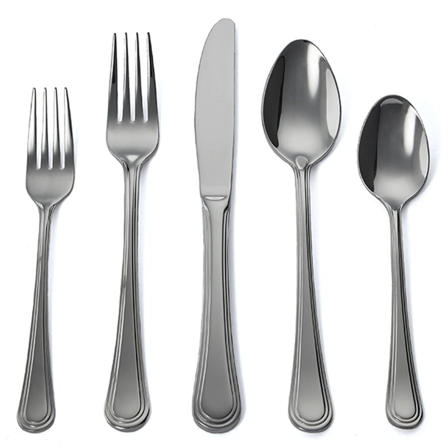 Bistro  sc 1 st  Gourmet Settings & Bistro 60pc Flatware at Costco Canada - Gourmet Settings Flatware