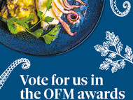 Vote for us in The Observer Food Monthly awards