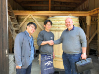 Stefano Vallebona and Yasuo Yamamoto