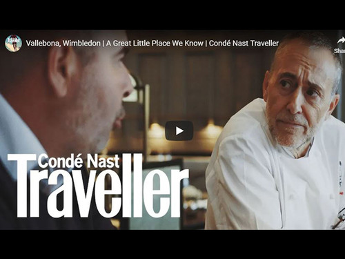 Vallebona, Michel Roux Jr and Conde Nast Traveller