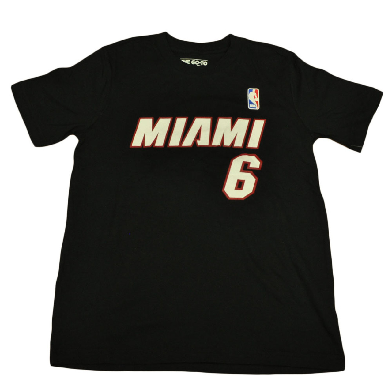 info for d465f d896d Adidas NBA Miami Heat Youth Name And Number Lebron James Tshirt Tee Medium  10/12