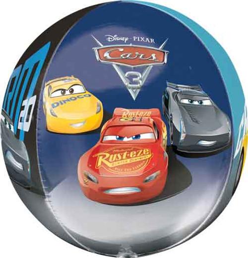 16 Disney Cars 3 Orbz Balloon