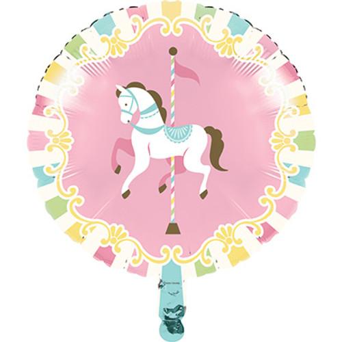 18 Carousel Foil Balloon