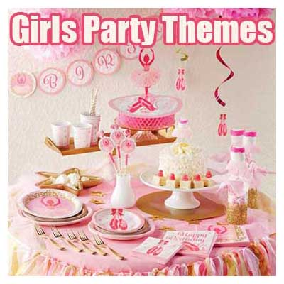 Girls Party Themes