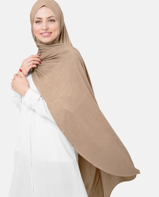 Toasted Almond Viscose Jersey Hijab