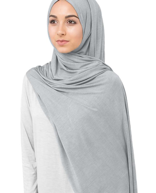 High Rise Viscose Jersey Hijab