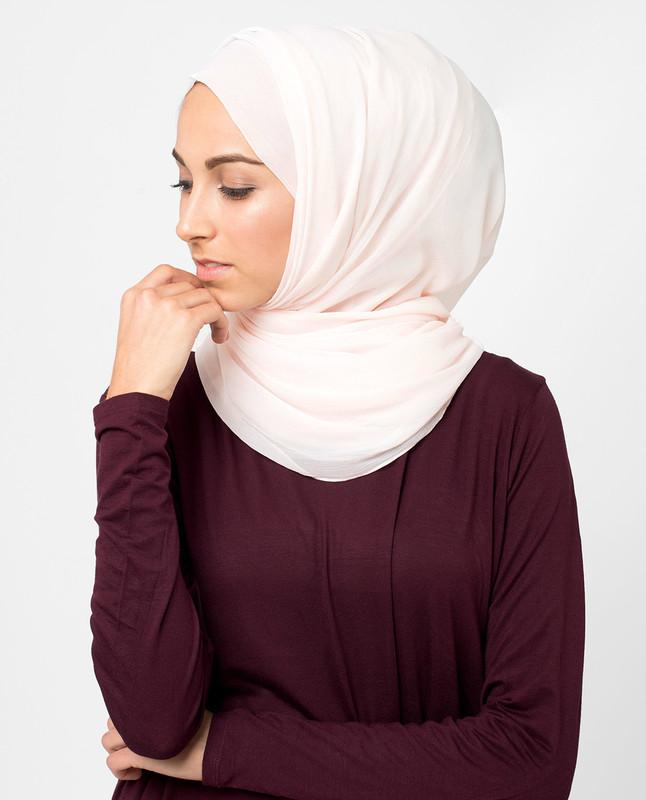 White Sand PolyChiffon Hijab