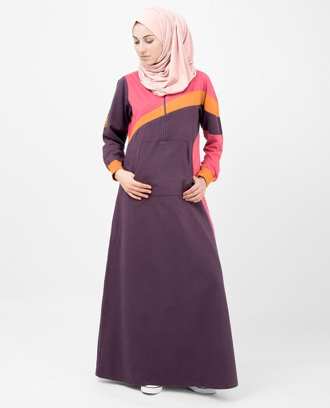 Sunny Stripe Jilbab