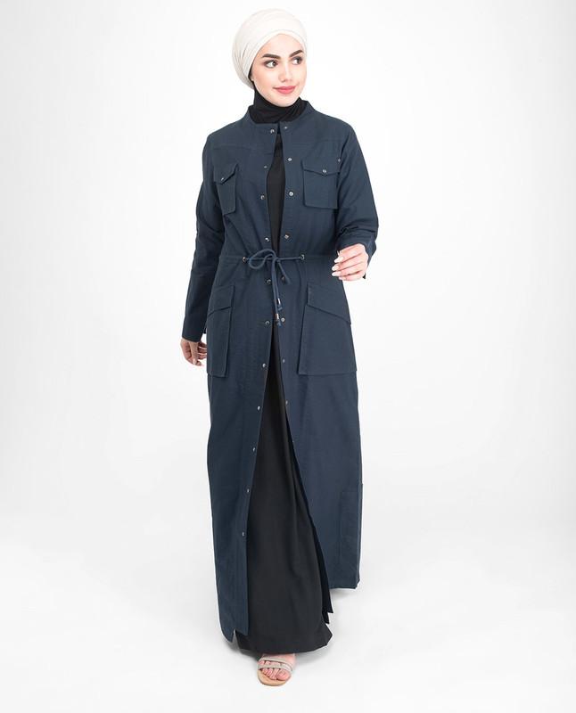 Blue Abaya Designs Jilbab
