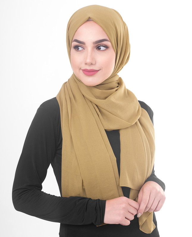 Rattan Cotton Voile Scarf
