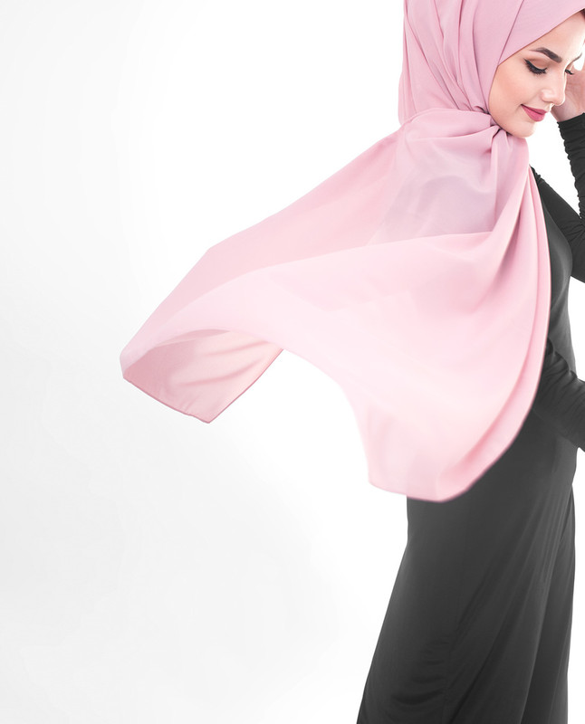 Purple hijab outfit