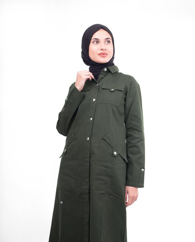 Warm abaya jilbab