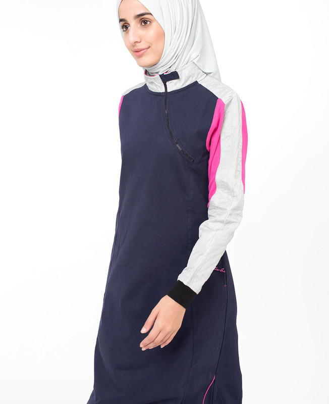Casual Navy Jilbab