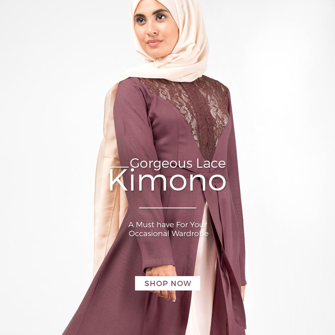 lace kimono