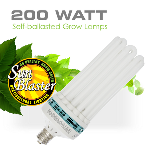SunBlaster 200 watt CFL Bulb