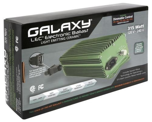 Galaxy® LEC™ Brand Electronic Ballasts - 315 Watt