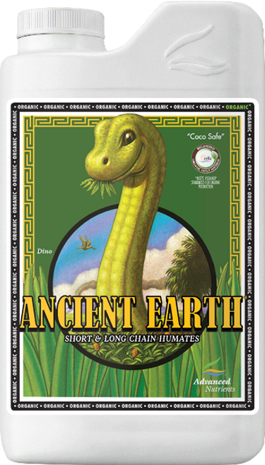 """""""Ancient Earth® Organic   Fortify Your Garden with the Nectar of the Earth  Using This Exclusive 2-in-1 Solution!  *Ancient Earth® Organic meets USDA-NOP and the world's most stringent organic input standards for organic production. Ancient Earth Organic, naturally derived from a rare source of ancient organic matter called Leonardite, is a breakthrough long and short chain humic acid supplement that gives you the best of nature's benefits in a bottle! The specialized ingredients in this formula work together seamlessly and synergistically to maximize plant performance and optimize the yield of your plant. As always, we stand behind Ancient Earth with our 100% money back Grower Guarantee.  Ancient Earth Organic is specially designed for use with all hydroponic growing media, including coco coir, as well as continuous liquid-feed growing systems such as aeroponics, drip irrigation and emitters, NFT, flood and drain, and deep water culture."""""""