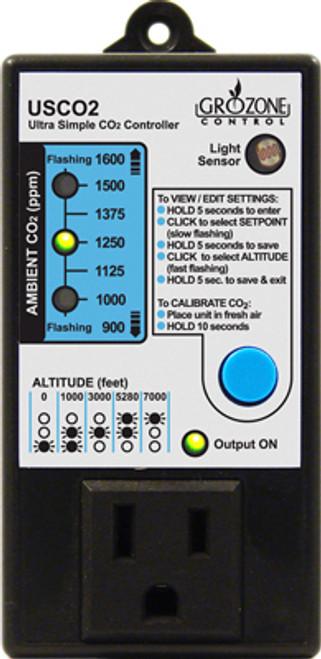 Grozone Controls USCO2 Contoller