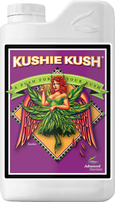 """Kushie Kush      For The Love Of Kush  The legendary Kush strain is at an all-time high in popularity with growers just like you. That's because Kush gives you the growth, yield and quality you demand from your garden. Until now, you've only had the same bloom boosters that have been on the store shelves for years. Now we're proud to offer you Kushie Kush®, the new bloom booster that mirrors the excitement and fun of the kush revolution. For the love of Kush, get yourself Kushie Kush today."""