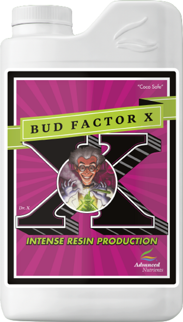 Bud Factor X triggers systemic acquired resistance (SAR) within plants to produce markedly higher amounts of essentials oils and terpenoids, which directly benefit taste, aroma and resin production, giving you higher-quality crops with greater market value. Plus, these powerful ingredients allow your plants to better handle stress and delay fruit senescence and decay. Bud Factor X also helps your plants produce thicker stalks and branches, signaling them to generate heavier harvests because they sense they can support the additional weight.