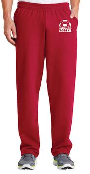 DKJA Open Bottom Pocketed Sweatpants