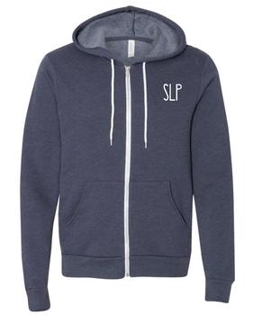 SLP Unisex Thin & Soft Zip-Up