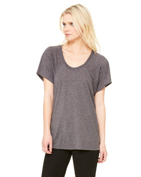 Bella Ladies Flowy Raglan Tee