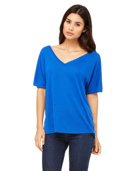 Bella Ladies Slouchy V-Neck