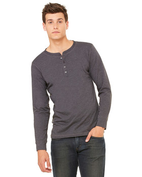 Bella/Canvas Long Sleeve Henley Tee