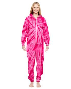 Tie-Dye Adult All-In-One Loungewear